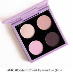 NWT MAC X Kelly Osborne Bloody Brilliant Eyeshadow